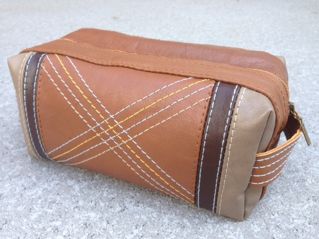 how to make a Dopp kit